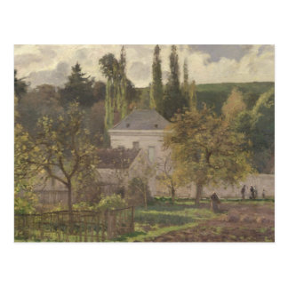 隠者の住処の家、Pontoise 1873年 ポストカード