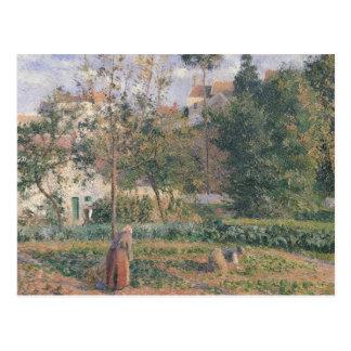 隠者の住処の菜園 ポストカード