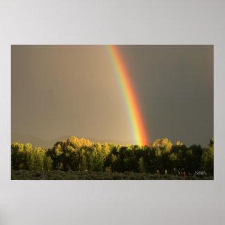 隠者の住処の虹ポスター ポスター