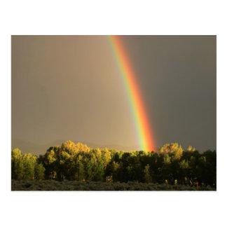 隠者の住処の虹 ポストカード