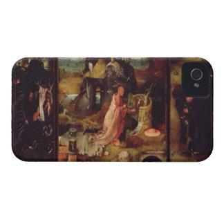 隠者(パネルの油)の祭壇の背後の飾り Case-Mate iPhone 4 ケース
