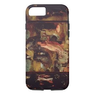 隠者(パネルの油)の祭壇の背後の飾り iPhone 8/7ケース