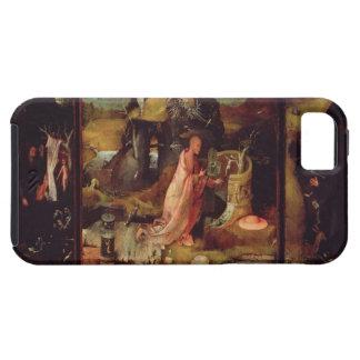 隠者(パネルの油)の祭壇の背後の飾り iPhone SE/5/5s ケース