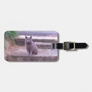 隣人の灰色猫 ラゲッジタグ