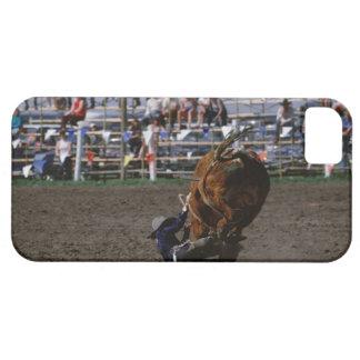 雄牛から落ちているロデオライダー iPhone SE/5/5s ケース