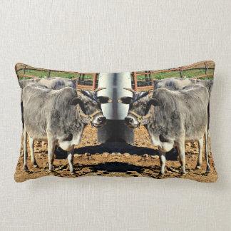 """""""雄牛""""ポリエステルLumbarの枕 ランバークッション"""