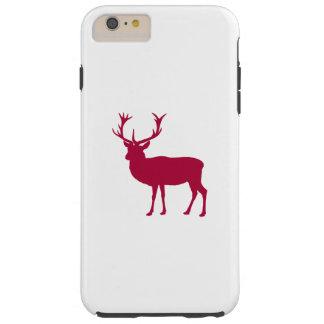 雄鹿かBacherlorのパーティ-ヨーロッパのアカシカ Tough iPhone 6 Plus ケース