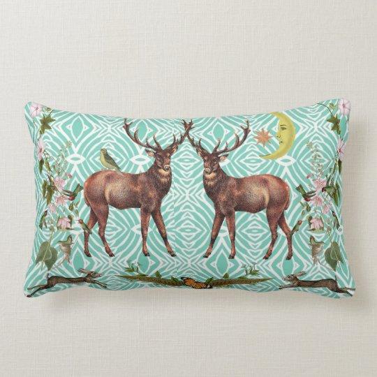 雄鹿の精神動物の枕 ランバークッション