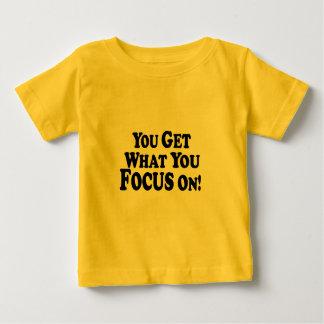 集中するもの得ます! -数々のプロダクト ベビーTシャツ