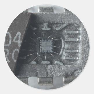集積回路の破片 ラウンドシール