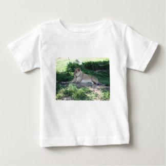 雌ジシ ベビーTシャツ