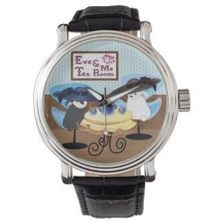 雌ヒツジ及び私茶部屋 腕時計