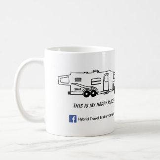 雑種のキャンピングカーのマグ-これは私の幸せな場所です コーヒーマグカップ