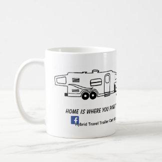 雑種のキャンピングカーのマグ-それを駐車するところでがあります家 コーヒーマグカップ