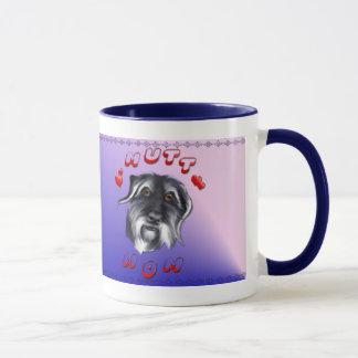 雑種犬のお母さんのマグ マグカップ