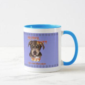 雑種犬のパパのマグ マグカップ