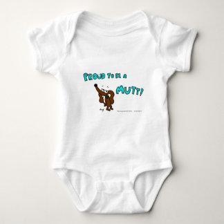 雑種犬の乳児のクリーパーがあること誇りを持ったなMidge ベビーボディスーツ