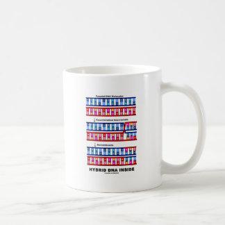 雑種DNAの内部(組換えDNA) コーヒーマグカップ