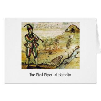 雑色のパイパー、挨拶状の最も古いイメージ カード