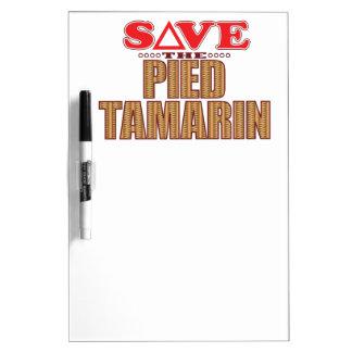 雑色のTamarinの保存 ホワイトボード