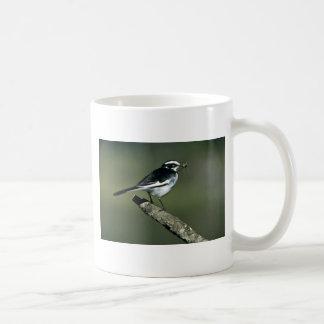 雑色のWagtail コーヒーマグカップ