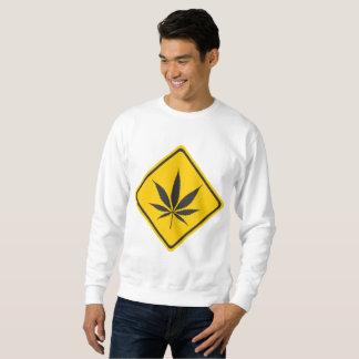 雑草の印のスエットシャツ スウェットシャツ