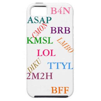 「雑談省略」のiPhone 5の場合 iPhone SE/5/5s ケース