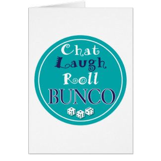 雑談、笑い、ロール- bunco カード