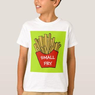雑魚のフライドポテトの子供のTシャツ Tシャツ