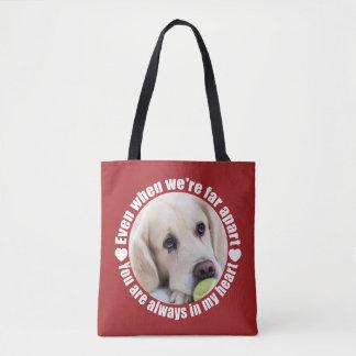 離れてあなたの写真はバッグを愛します トートバッグ