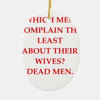 離婚される セラミックオーナメント