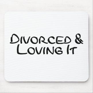 離婚され、それを愛します マウスパッド