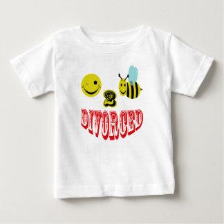 離婚する幸せな2蜂 ベビーTシャツ