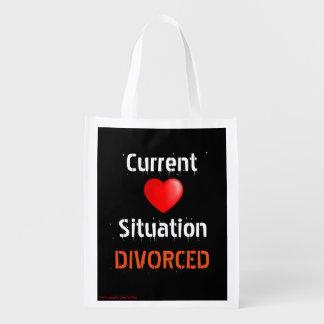 離婚する現状の人間関係の状態 エコバッグ