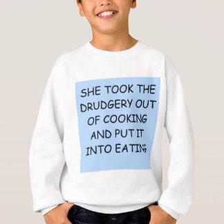 離婚の冗談 スウェットシャツ