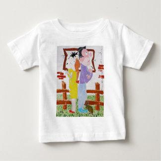 離婚の戦い-カメの管理 ベビーTシャツ