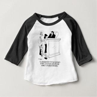 離婚の漫画6485 ベビーTシャツ