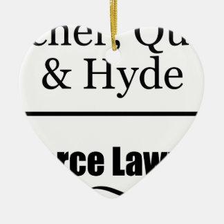 離婚専門の弁護士 セラミックオーナメント