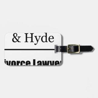 離婚専門の弁護士 ラゲッジタグ