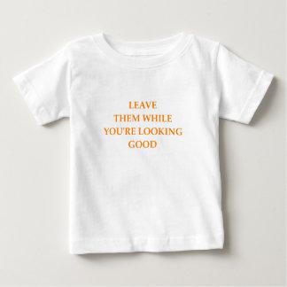 離婚 ベビーTシャツ