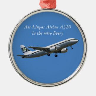 離陸の優れた円形のオーナメントのエアバスA320 メタルオーナメント