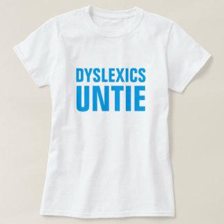 難読症状者は解けます Tシャツ