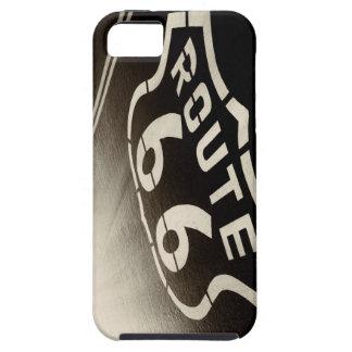 雨およびルート66 iPhone 5 カバー