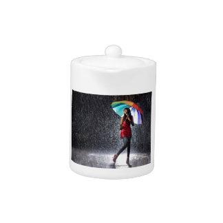 雨ではねかけること