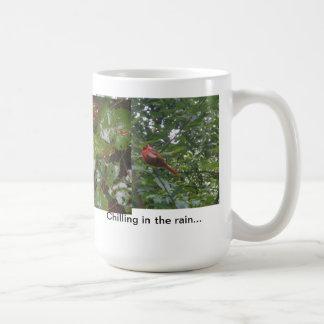 雨で冷えること コーヒーマグカップ