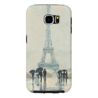 雨のエッフェル塔|パリ SAMSUNG GALAXY S6 ケース
