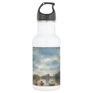 雨のブラックプール ウォーターボトル