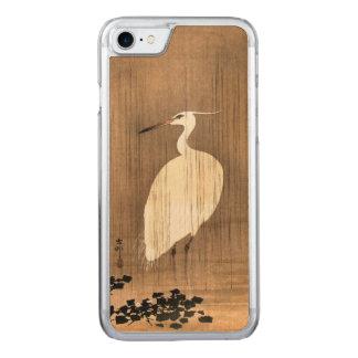 雨のヴィンテージの白い鷲 CARVED iPhone 8/7 ケース