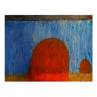 雨の三角波 ポストカード