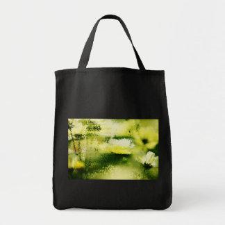 雨の夢みるような花-絵画の芸術のバッグ トートバッグ